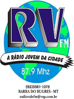 Rádio Vale 87,9 FM                                                  Barra do Bugres MT